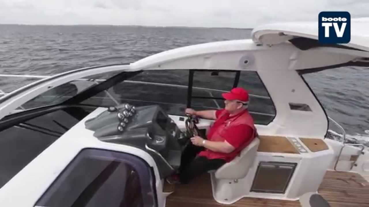 Test Bavaria Sport 330 Ht Youtube