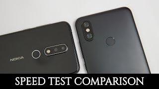 Nokia 6.1 Plus vs Xiaomi Mi A2 Speed Test Comparison, Benchmarks