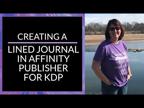 Creating A Lined Journal In Affinity Publisher