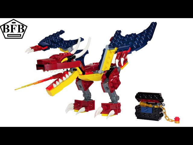 Lego Creator 31102 | Feuerdrache | 3in1 | Lego Speed Build Review | Modell A