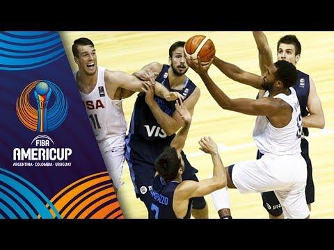 USA v Argentina - Slow Motion Recap - Final - FIBA AmeriCup 2017
