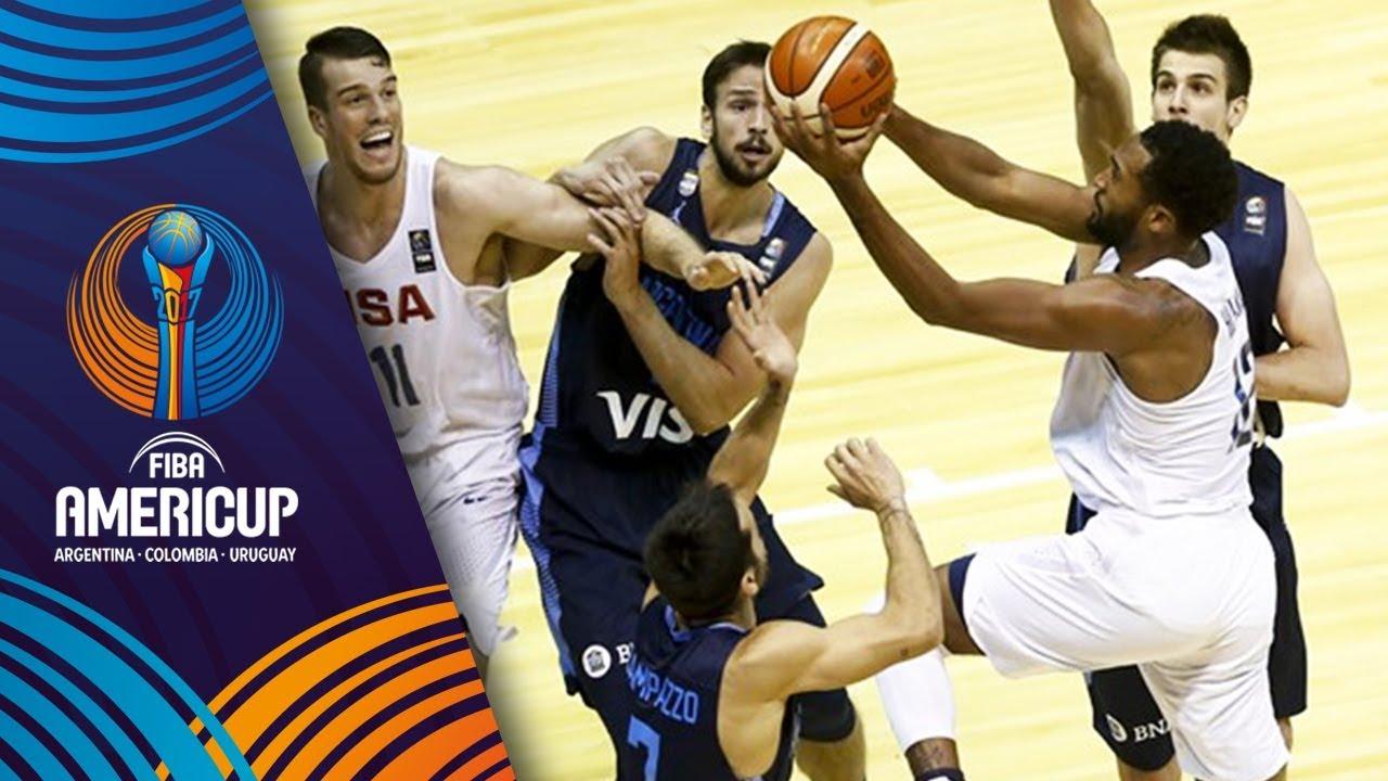 USA v Argentina - Slow Motion Recap - Final