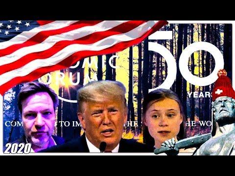 WEF Davos | Habeck wettert | Greta fordert | Präsident Trump motiviert