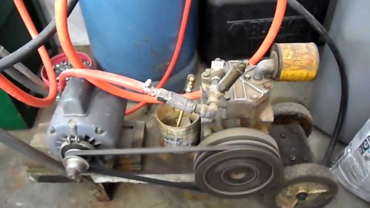 Homemade Air Compressor Youtube