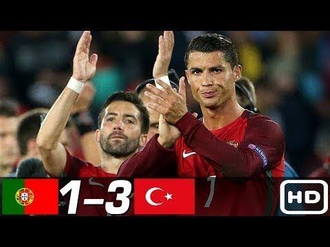 Portekiz 1-3 Türkiye Maç Özeti Tüm Goller