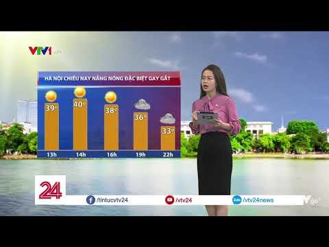 Hà Nội chiều nay (28/06) nắng nóng đặc biệt gay gắt | VTV24