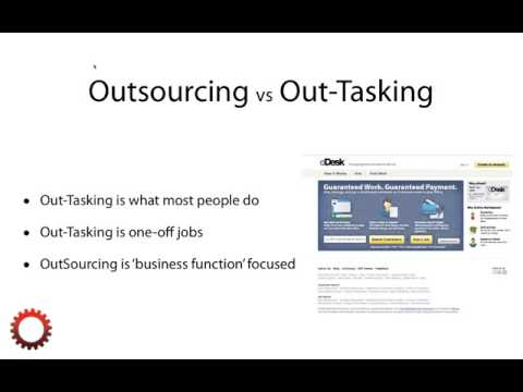 The DIfference Between Outsourcing vs Out-tasking