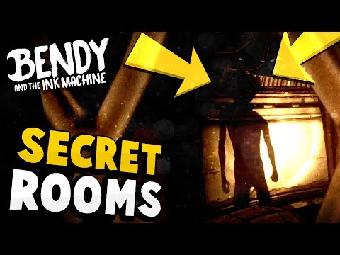 New Secret Rooms Found Hidden Below! - Bendy and the Ink Machine Chapter 2 Remastered Secrets
