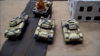 Flames of War V4 Desert Rats vs. Afrika Korps