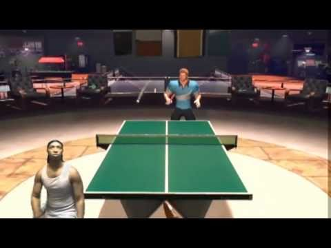 PlayStation Move - Sports Champion - Table Tennis ( Game Play) onQ