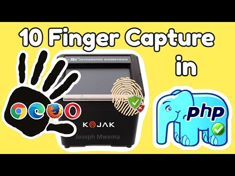 10 Finger Capture in PHP using a KOJAK Biometric Scanner