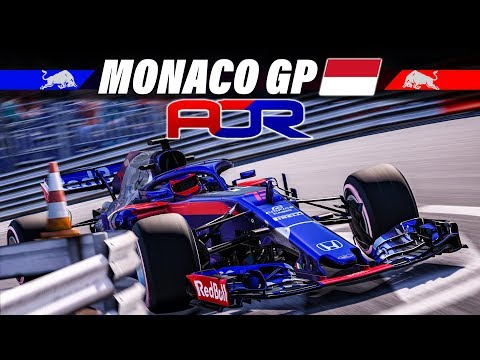 AOR Liga Rennen 6: Monaco GP – F1 2018 Livestream Deutsch | Formel 1 Gameplay German