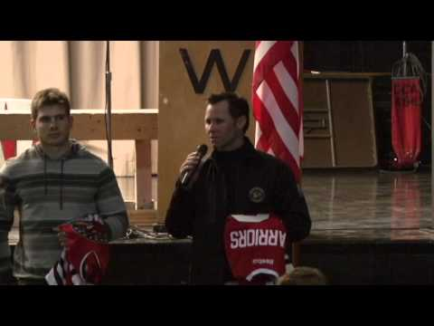 Rockford IceHogs Adopt West Middle School 10/10/12