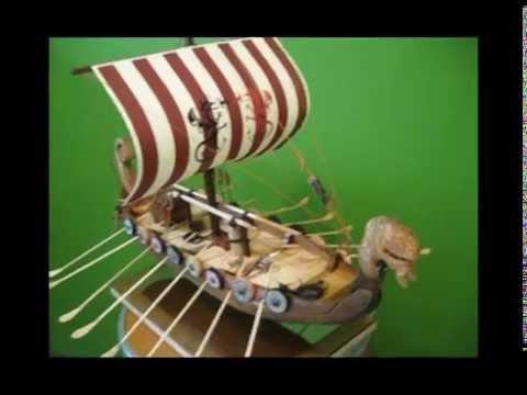 Drakkar Viking Ship model scale 1/32