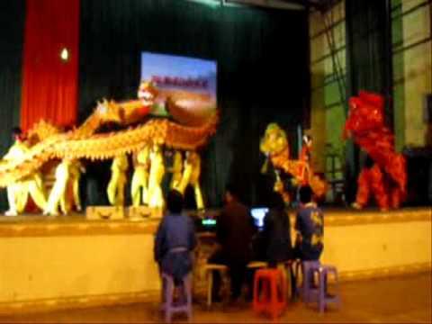 Mua Rong 4-4-2012, CLB võ cổ truyền Thái Nguyên, Thiếu Lâm Kungfu Việt Nam.wmv