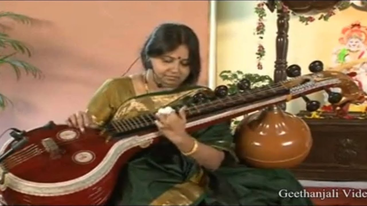 Learn the Varnam on Veena
