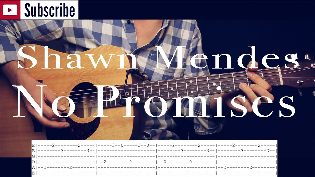 how to play promises on guitar