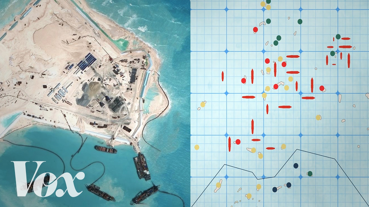 Why China is building islands in the South China Sea - YouTube