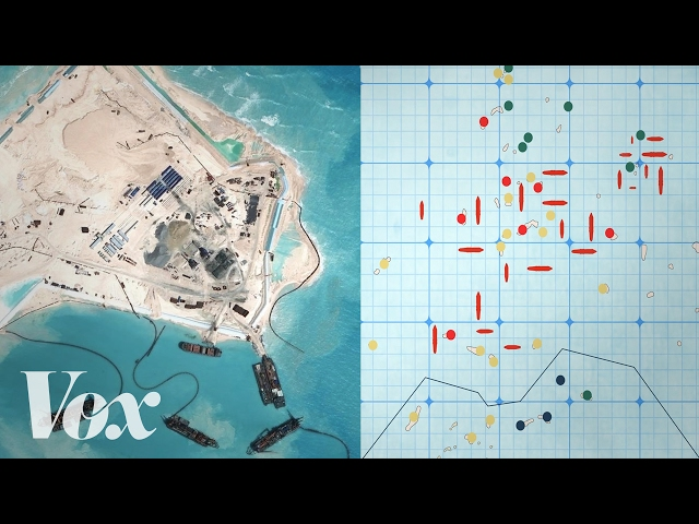 Why China is building islands in the South China Sea