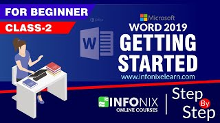 Class-2   Getting Started to Ms Word 2019   Hindi