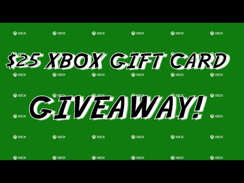Free Giveaway 25 Xbox Gift Card Code