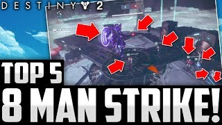 8 MAN INVERTED SPIRE STRIKE GLITCH! Destiny 2 Beta Top 5 WTF Moments Of The Week / Episode 8