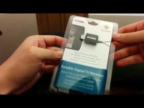 D-Link Portable Digital TV Receiver Review