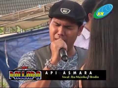 New Palapa - Ria Mustika Ft. Brodin - Api Asmara (Kayu Manis Gringsing Batang)