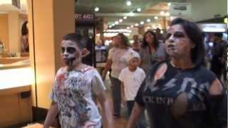 Zombies walk through Imperial Valley Mall