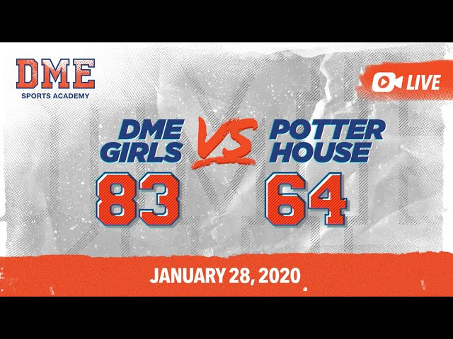 DME HS Girls vs Potterhouse