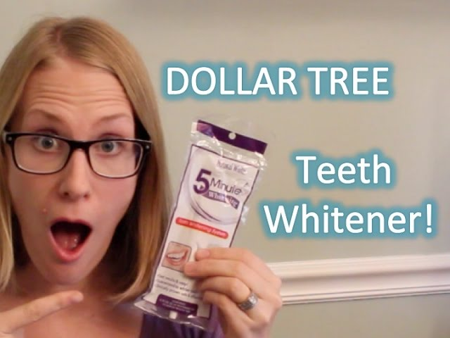Dollar Tree Teeth Whitener Review Do It On A Dime