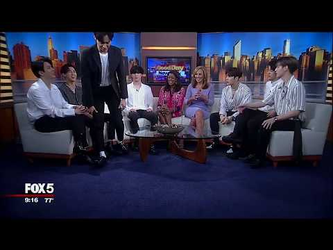 EXCLUSIVE (Part 1): K-Pop sensation GOT7 on Good Day New York