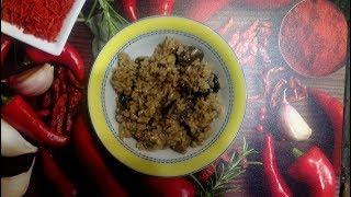 Грибной плов без мяса (из риса)