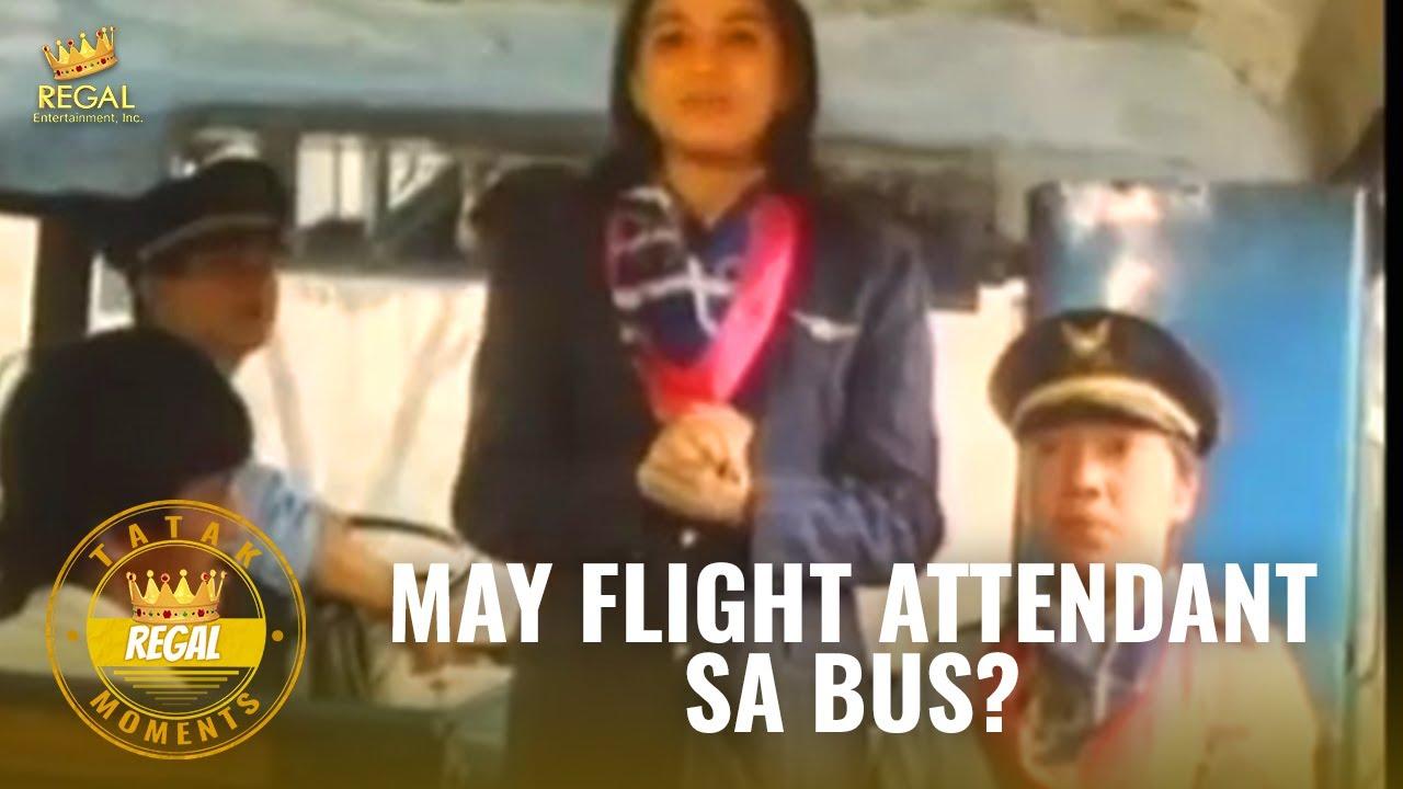 May Flight Attendant Sa Bus?   #TatakRegal Moments