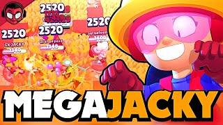 JACKY DE MEGABRAWLER ¡¡EL BRAWLER MÁS ROTO AHORA ES GIGANTE!!   Brawl Stars