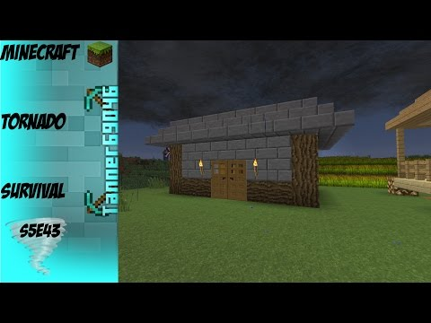 Minecraft Tornado Survival (Localized Weather Mod) S5E43