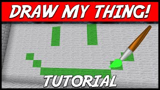 Minecraft | DRAW MY THING! (Draw words for players to guess) | Plugin Tutorial