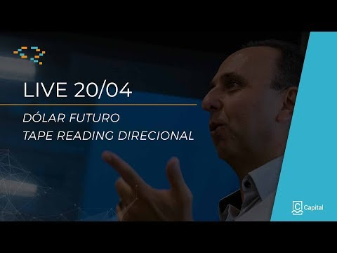 │LIVE 20 ABR│ÍNDICE E DÓLAR – TAPE READING
