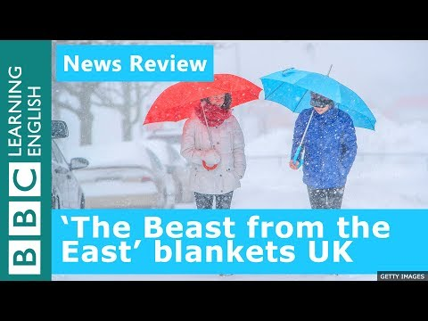 BBC News Review: The 'Beast from the East' blankets UK