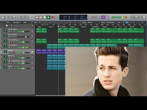 Creating a Song Live in Logic Pro X (Charlie Puth - Done For Me) Track From Scratch In 27 MINS