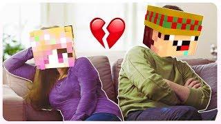 😭me Divorcio De Mi Esposo En Minecraft 💔