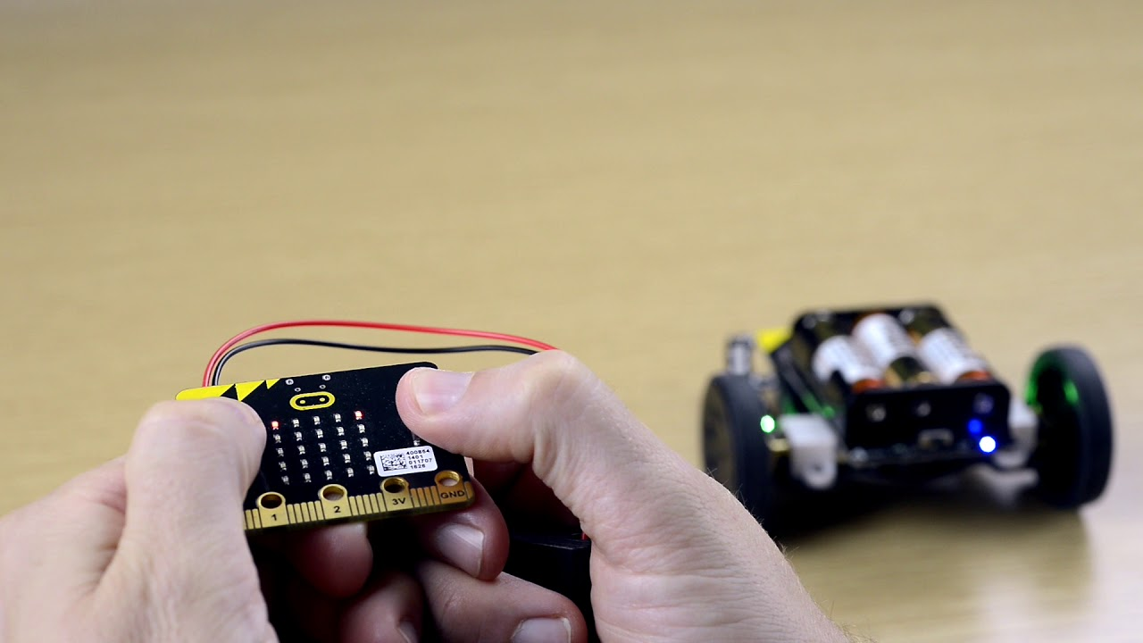 Robot:bit Plug/&Play 5V Multi-functional Expension Board For Micro:bit