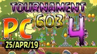 Angry Birds Friends Level 4 PC Tournament 603 Highscore POWER-UP walkthrough #AngryBirds