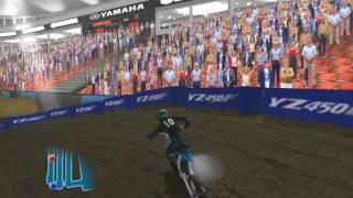 прохождение Yamaha Supercross часть1