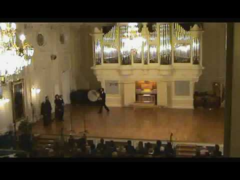 The Official Inauguration of the organ in Saint Petersburg Conservatory (8)