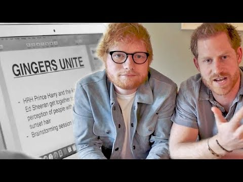 Prince Harry and Ed Sheeran Join Forces for World Mental Health Day thumbnail