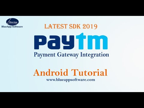 Paytm Payment Gateway Integration Android Tutorial- Latest
