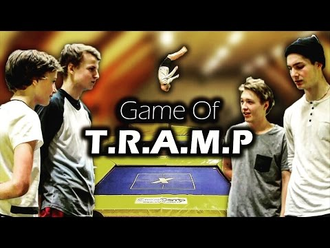 GAME OF T.R.A.M.P - ON A SUPERTRAMPOLINE!