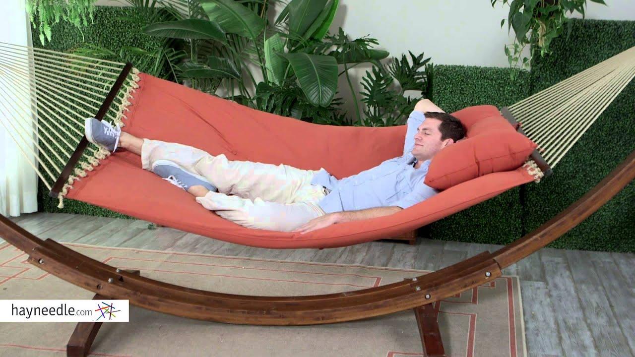 island bay sienna tufted pillow top hammock   product review video island bay sienna tufted pillow top hammock   product review video      rh   youtube