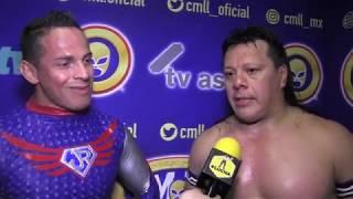 """Último Guerrero y Volador Jr: """"Vamos a hacer tregua hasta ganar el torneo"""""""